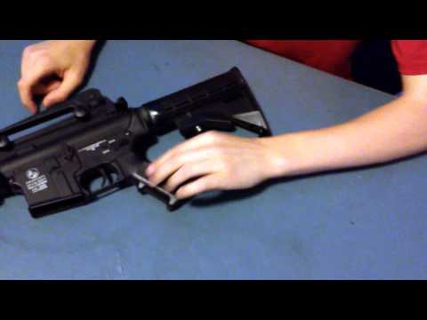 Colt M4A1 Cybergun Unboxing. Review. Accuracy Test-HD