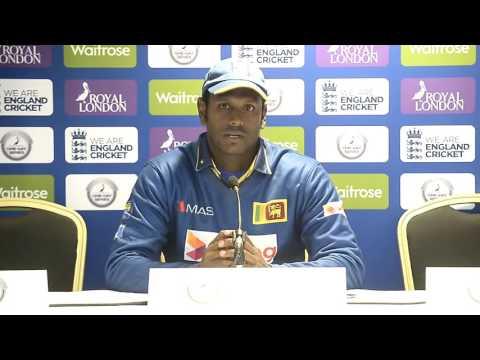 Sri Lanka v England 2nd ODI, Post match Press Conference - Angelo Mathews