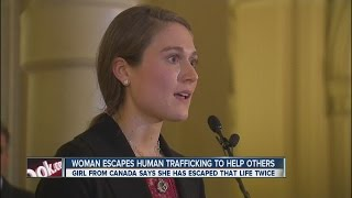 Woman who escaped human trafficking now helping others