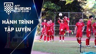 Đội tuyển Việt Nam chuyển sân tập, hoàn thiện lối chơi trước trận mở màn trên đất Lào | VFF Channel
