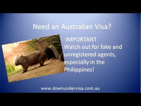 Australian Tourist Visa Philippines from Down Under Visa