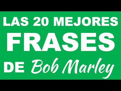 Las 20 mejores frases de BOB MARLEY - Frases para pensar