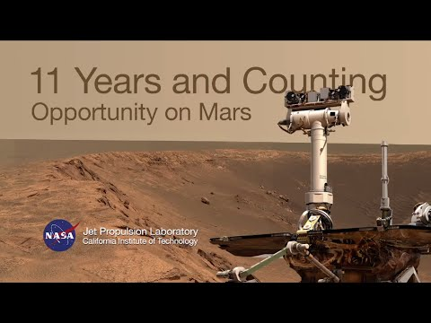 11 Years and Counting - Opportunity on Mars