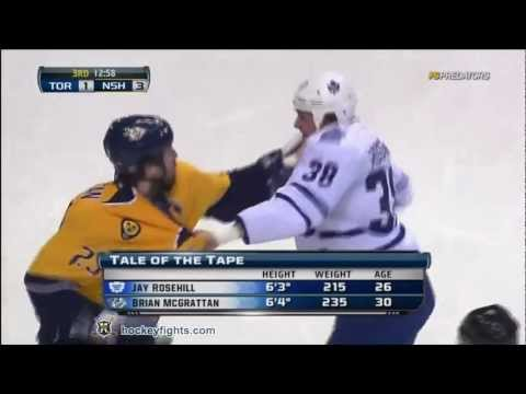 Better Than Most: Jay Rosehill & Brian McGrattan Go At It 11.17.2011 (video)