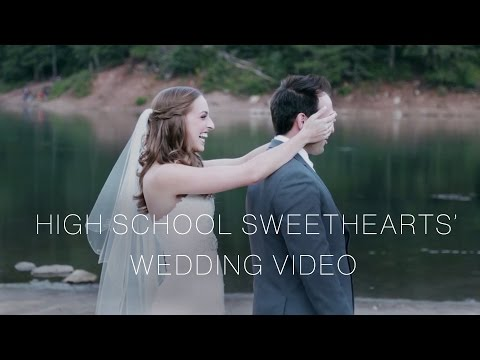 CUTEST EVER Wedding Video of High School Sweethearts in Eden Utah Wedding Videographer