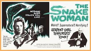 The Snake Woman (1961) Trailer - B&W / 2:06 mins