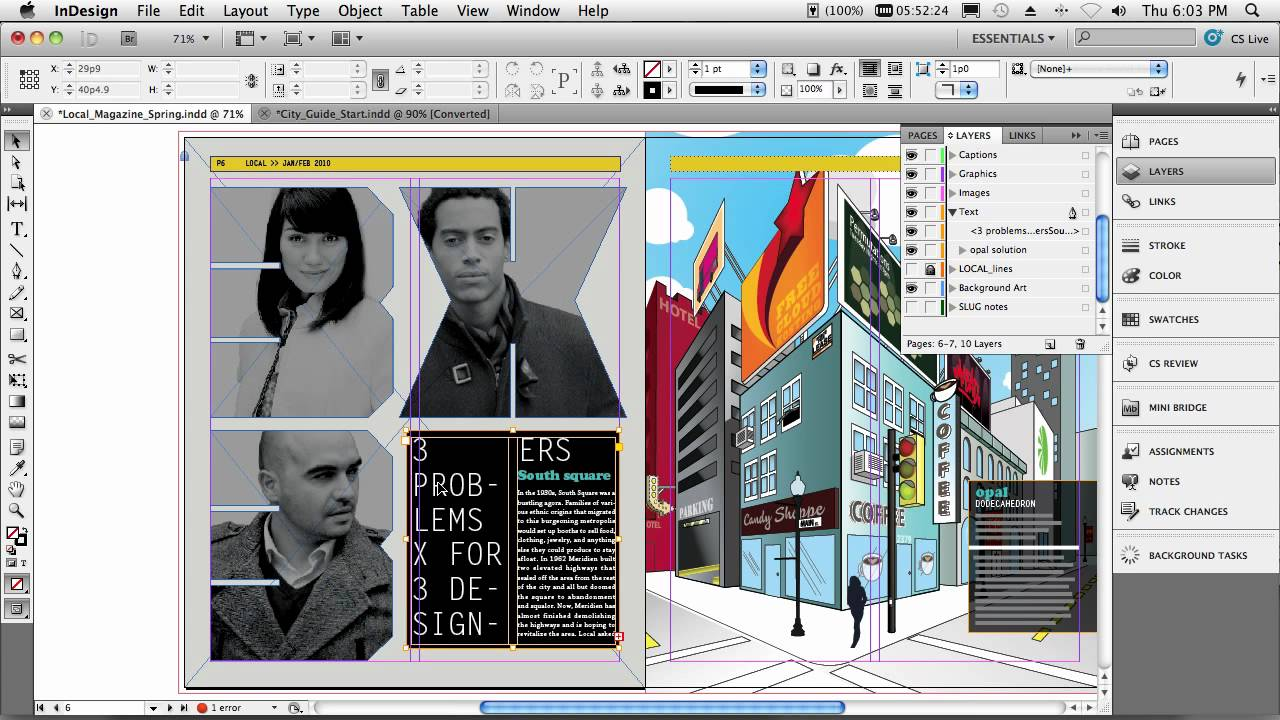 Adobe Indesign Cs5 - My Top 5 Favorite Features