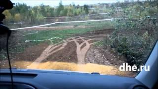 VW Tiguan Летние шины Осенняя глина. Тест драйв.