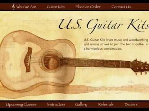 Cutaway Acoustic Guitar Kit us Guitar Kits Custom Cutaway