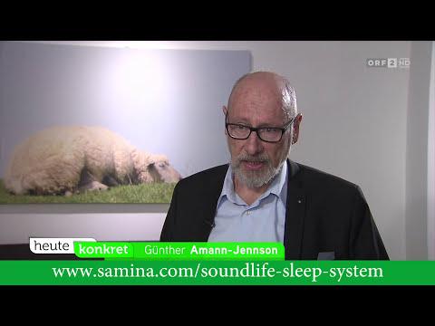 Musik-Kissen - Neue Therapie gegen Schlaflosigkeit & Schlafstörungen (ORF - heute konkret)