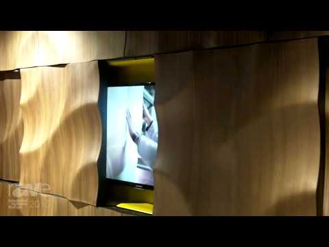 ISE 2015: Moko Features Volga Real Wood Panel System for Beautifully Hiding Screens