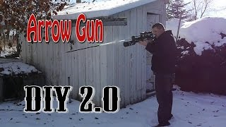 How To Make A Arrow Gun 2.0 Daisy Pellet Gun Hack