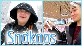 HANDLA I SNÖKAOS!!   Vlogg