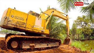 Excavator | Construction Excavator for Children ♫ Song for kids in VietNam