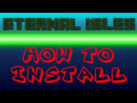 Minecraft: How to Install The Eternal Isles Mod (EASY)