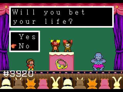 Mega Drive Longplay [208] Alex Kidd in the Enchanted Castle