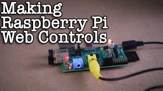 Making Raspberry Pi Web Controls