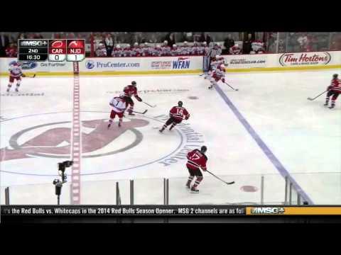Carolina Hurricanes vs New Jersey Devils 08.03.2014