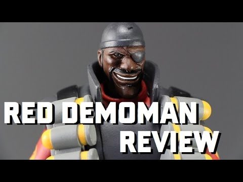 Red Demoman TF2 NECA Review by Glasseater