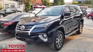 Cận cảnh Toyota Fortuner 2019   Fortuner 2.8G 4x4 AT 2019 màu đen nhập khẩu mới 100%, giá 1.354 tỷ.!