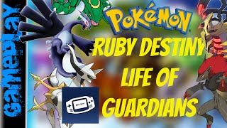 Pokemon Ruby Destiny Life of Guardians para Android GBA | Hackrom GAMEPLAY