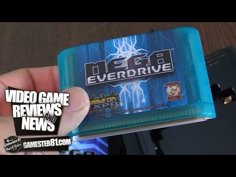 Mega EverDrive Review Genesis flash cart - Gamester81