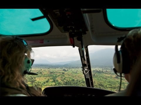 A Helicopter Safari Over Virunga National Park | Travel + Leisure