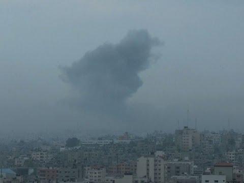 Raw: Israel Bombs Multiple Targets in Gaza