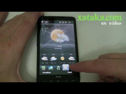 HTC HD2. un paseo por su interfaz