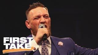 Conor McGregor Greatest Trash-Talker Of All Time? | First Take | ESPN