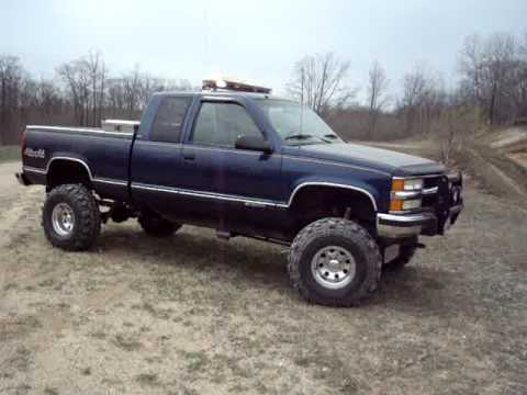 lifted chevy off road rescue truck youtube. Black Bedroom Furniture Sets. Home Design Ideas