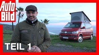 VW T6 California in Kalifornien - Teil 1