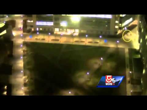 Footage of Boston Bombing suspects ambushing MIT officer released