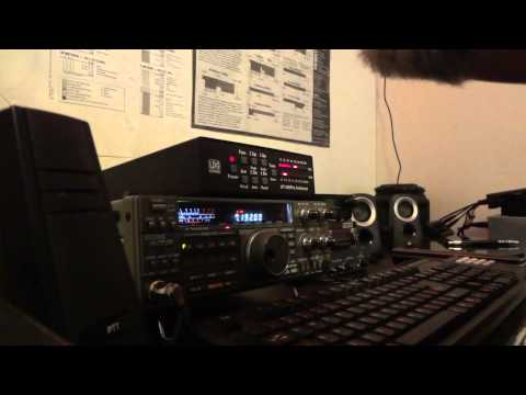 Contact made today with my Kenwood TS440S/AT/BHI DSP Transceiver with the NightWatch Net