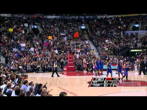 Jeremy Lin Clutch 4th Quarter, And1 & Buzzer Beater KILLS the Raptors !!  HD Highlight