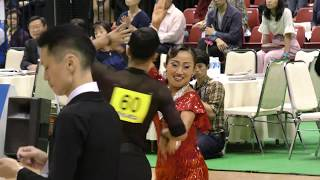 4K 2017 The Prince Mikasa Cup in Tokyo | キンタロー・ロペス組 | ラテン3次予選 CHACHACHA