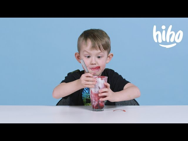 Kids Try British Food