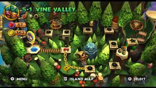 Donkey kong coutry returns world 5 part  Forest
