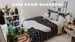 ULTIMATE ROOM MAKEOVER (Under $300) + Room Tour & DIY Projects // Lone Fox