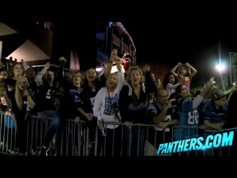 Fans Welcome Panthers Home After Week 16 Loss