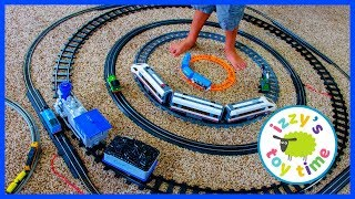 YOU WON'T BELIEVE HOW MANY TOY TRAINS WE HAVE!