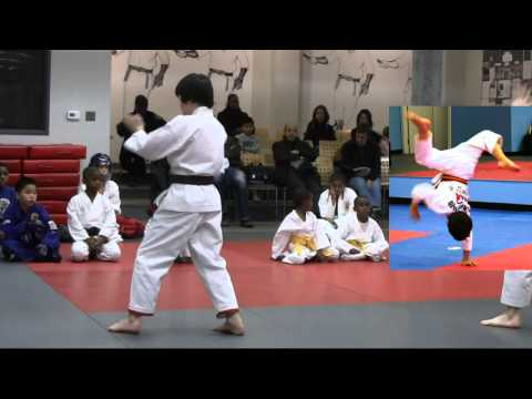Leo Isshinryu Karate Black Belt test Image 1