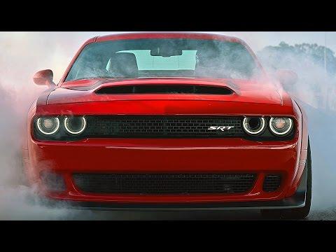 2018 Dodge Challenger SRT DEMON (840HP) Extreme Muscle Car [YOUCAR]