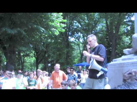 Central Park Longboard Race Awards - 1st Place Kiefer Dixon