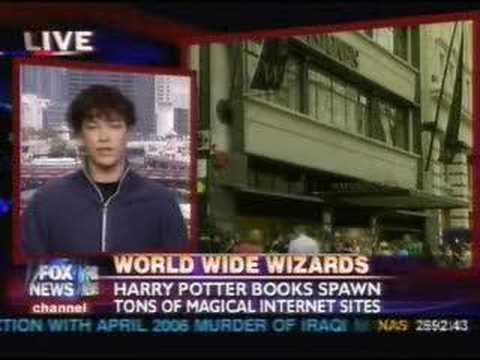 Emerson Spartz of MuggleNet on Fox News Live - July 20, 2007