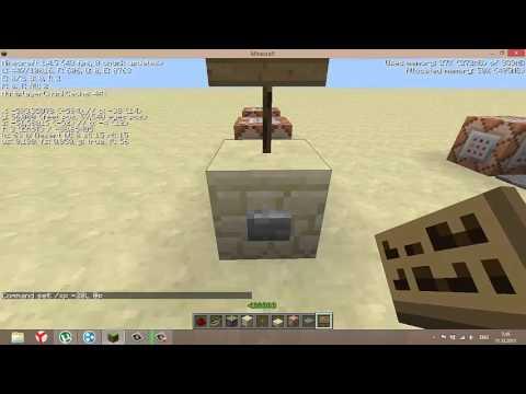 Как в майнкрафте сделать лифт из командного блока видео