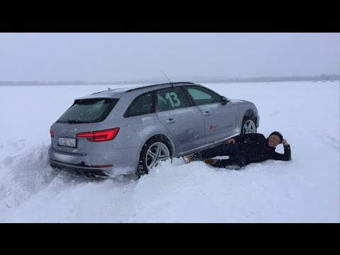 2017 Audi S4 Drive Experience Part 2: Ice Driving at Birth Place of quattro - Muonio Finland