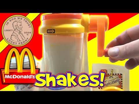 McDonald s Happy Meal Magic 1993 Shake Maker Set - Making Milk Shakes!