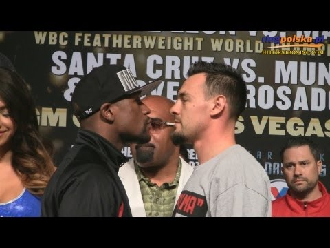 Floyd Mayweather Jr - Robert Guerrero Face Off