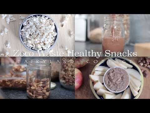 Zero Waste Healthy Snacks - Quick and Easy